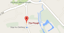 google map of The Plough